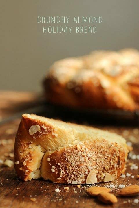 Crunchy Almond Holiday Bread