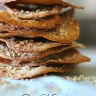 Ottolenghi's Olive Oil Crackers