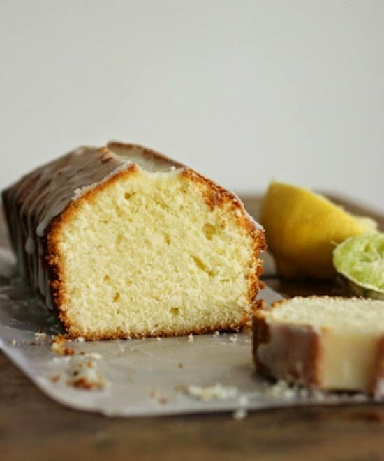 Lemon Lime Pound Cake #SundaySupper