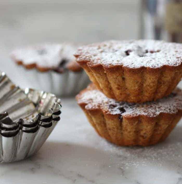 Lemon and Blackberry Teacakes