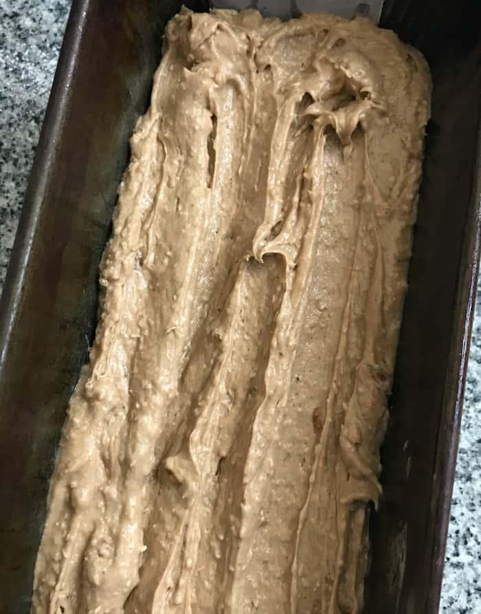 Coconut pecan loaf cake