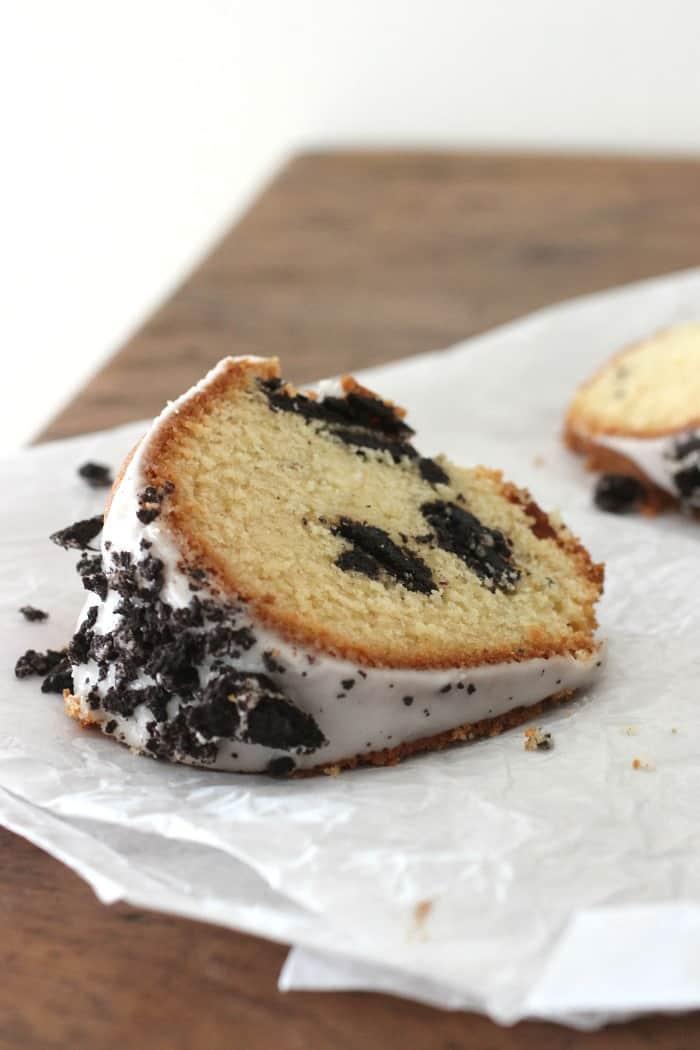 Easy Vanilla oreo cake