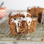 PUMPKIN COFFEE CAKE WITH WALNUT CINNAMON STREUSEL