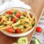 Easy jalapeño lime tomato pasta