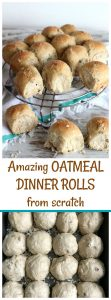 Amazing oatmeal sunflower rolls
