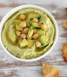 Easy AVOCADO HUMMUS