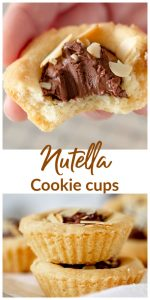 Nutella cookie cups Long Pin with text