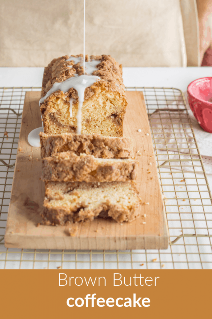 Brown butter coffeecake pinterest banner