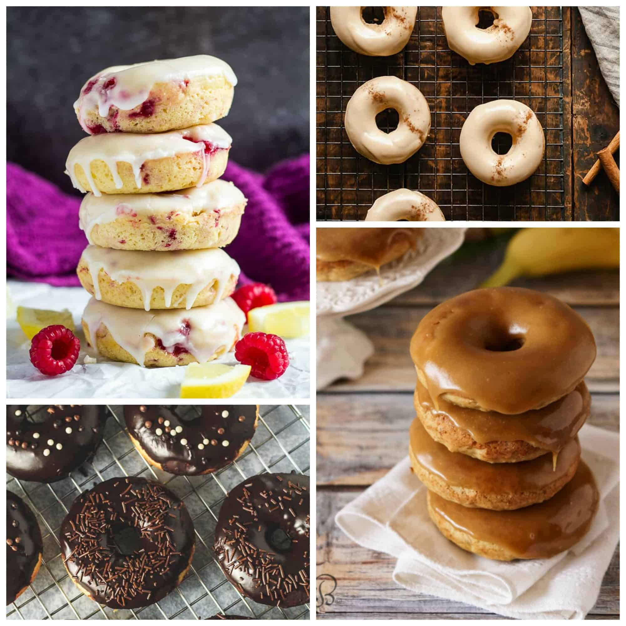 doughnut round-up recipe mosaic