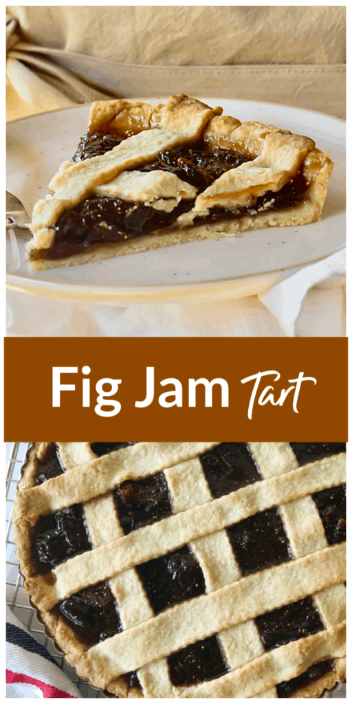 Fig tart long pin