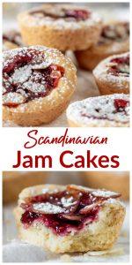 Mini Jam Cakes long pin collage