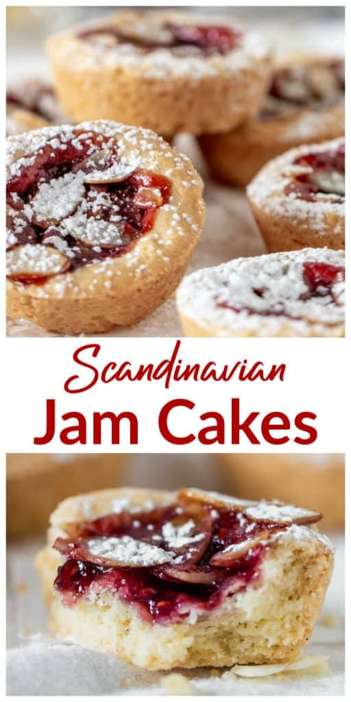 Mini Jam Cakes long pin collage