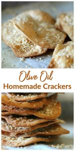Olive oil crackers Long Pin