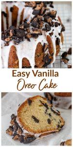 Vanilla Oreo cake Long Pin
