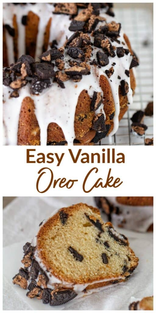 Vanilla Oreo cake Long Pin