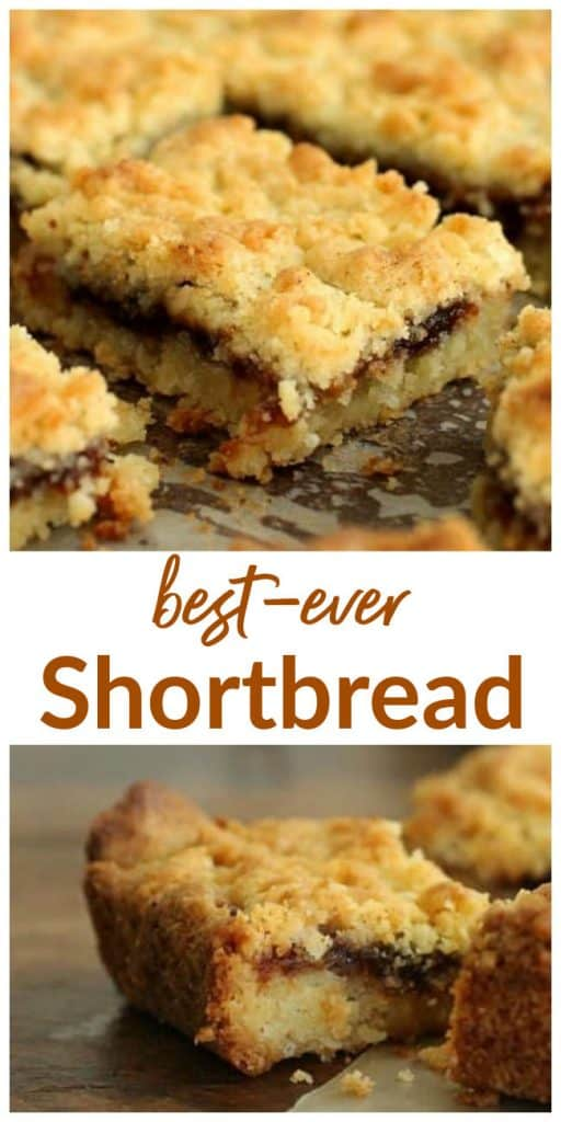 hungarian shortbread image Collage with text