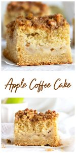 Apple Coffee Cake Collage.