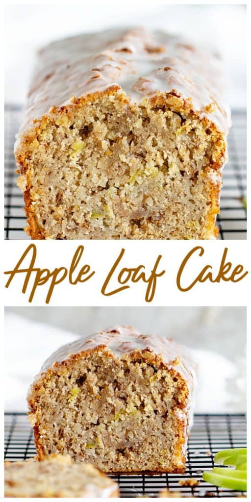 Apple Loaf cake Collage