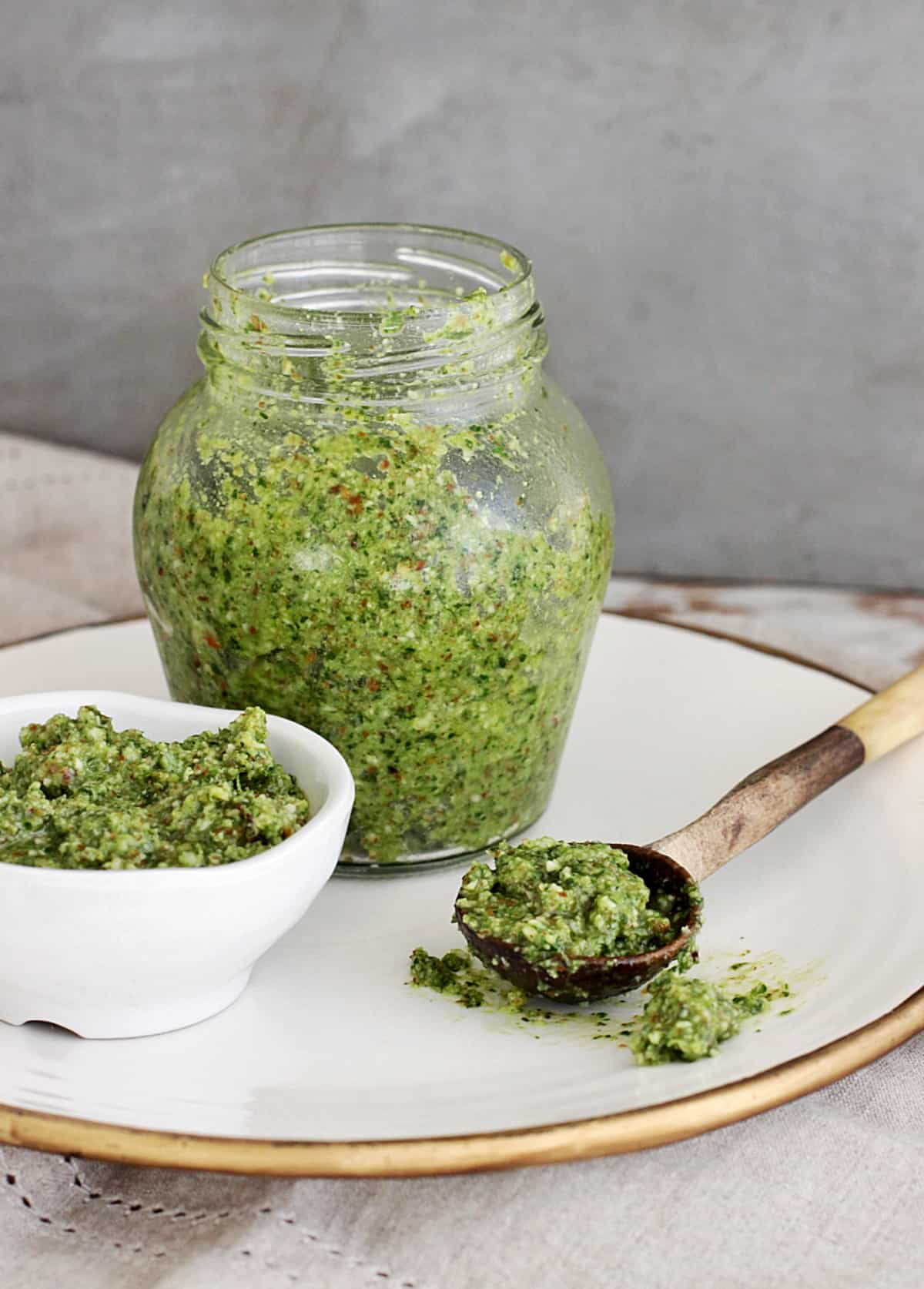 Super Easy Cilantro Pesto Vintage Kitchen