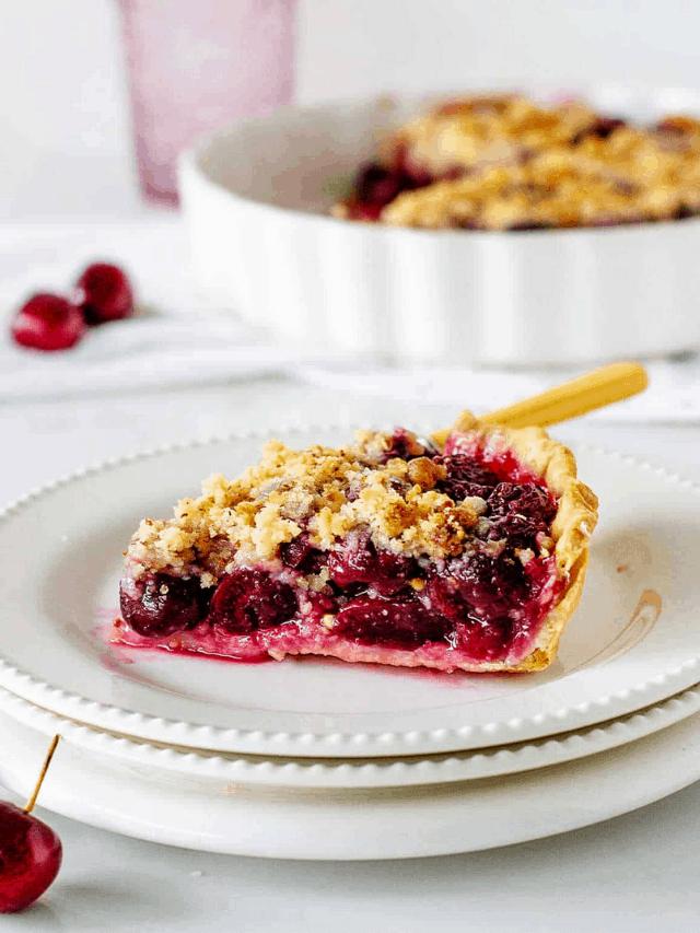 Cherry crumb pie - GWS Cover